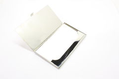 Blank Business Card Holder. With card ready for your logo Royalty Free Stock Photography