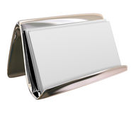 Blank Business Card Holder Copy Space for Your Text Words Messag Royalty Free Stock Images