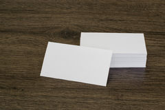 Blank business card Stock Images