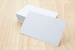 Blank business cards Royalty Free Stock Photography