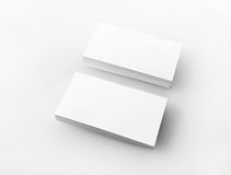Blank business cards Royalty Free Stock Photo
