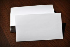 Blank Business Cards Stock Photos