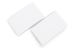 Blank business cards Stock Photos