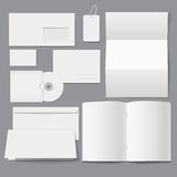 Blank Business empty Corporate Templates Stock Image
