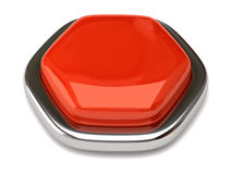 Blank button stock photo