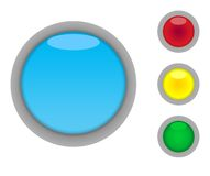 Blank button icons Stock Photo