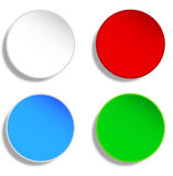 Blank buttons Royalty Free Stock Images