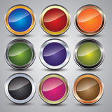 Blank Buttons Royalty Free Stock Photography