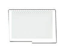 Blank calendar Stock Photos