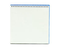 Blank calendar. On white background Stock Images