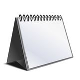 Blank calendar Stock Photography