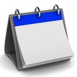 Blank calendar Stock Photo