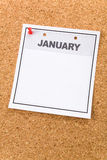 Blank Calendar Royalty Free Stock Photo