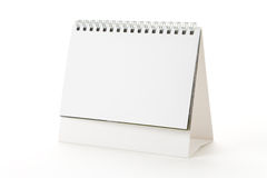 Blank Calendar Royalty Free Stock Images