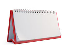Blank Calendar. On white - 3 Stock Photography
