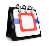 Blank calendar Stock Images