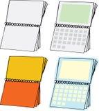Blank Calendars Royalty Free Stock Photo