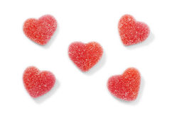 Blank Candy Hearts Stock Photos