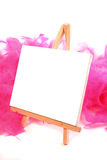 Blank canvas Royalty Free Stock Image
