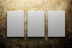 Blank canvas background Stock Photography