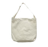 Blank canvas cotton tote bag Royalty Free Stock Photography