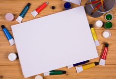 Blank Canvas Stock Images