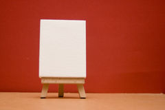 Blank canvas, Royalty Free Stock Images