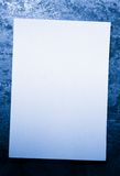 Blank card Royalty Free Stock Photo
