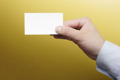 Blank card Stock Photography