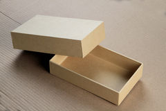Blank Card Board Box for Mockup Royalty Free Stock Photography