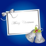 Blank card christmas Royalty Free Stock Photos