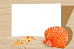 Blank card for entries with  theme of travel Royalty Free Stock Photo