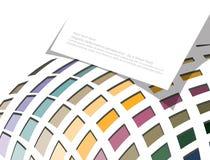 Blank card, modern geometric design Royalty Free Stock Image