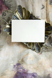 Blank Card On Luxury Stock Images