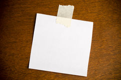 Blank card Royalty Free Stock Image