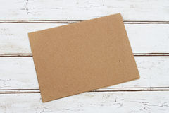 Blank Card for your message Royalty Free Stock Image