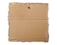 Blank cardboard signage Stock Photo