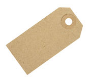 Blank Cardboard Tag Label Royalty Free Stock Photography