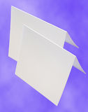 Blank Cards Royalty Free Stock Images