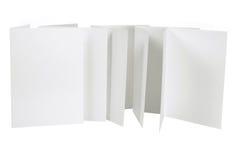 Blank Cards Royalty Free Stock Photos