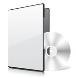 Blank Case And Disk Stock Images