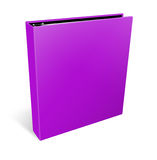 Blank case binder Royalty Free Stock Images