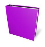Blank case binder Royalty Free Stock Photo