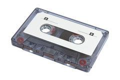 Blank cassette tape Royalty Free Stock Photos