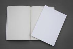 Blank catalog,brochure, magazines,book Stock Image
