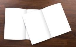 Blank catalog,brochure,  mock up Royalty Free Stock Photo
