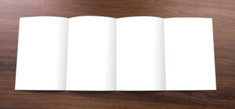 Blank catalog,brochure,  mock up Royalty Free Stock Photography