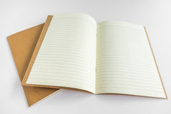 Blank catalog, magazine, book template with soft shadows. Ready Royalty Free Stock Image