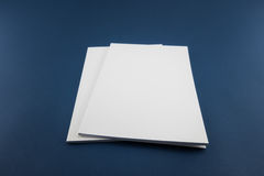 Free Blank Catalog, Magazine, Book Template With Soft Shadows. Ready Royalty Free Stock Photo - 75368375