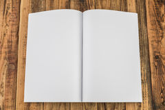 Blank catalog, magazines,book mock up Royalty Free Stock Images